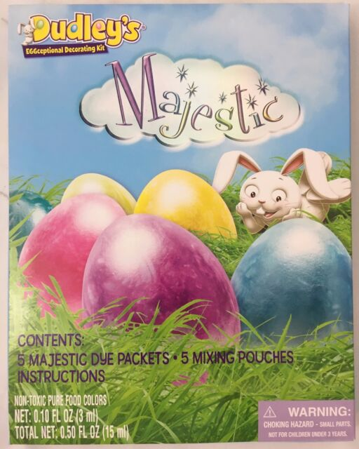 Dudley/'s Eggceptional Decorating Kit Majestic Easter Egg decorationg kit New