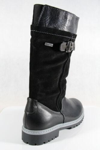 Bottes Tex H Largeur Jana Boots Noir Chaude D'hiver Neuf Doublure À 26605 SOq6fZw
