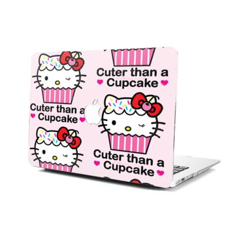 Cartoon Hello Kitty Hard Rubberized Case Cover For Apple Macbook Pro Air Retina