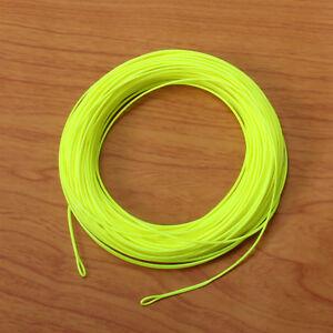 Fly-Fishing-Line-amp-2Welded-Loops-WF1-2-3-4-5-6-7-8-9F-Orange-White-Green-Yellow