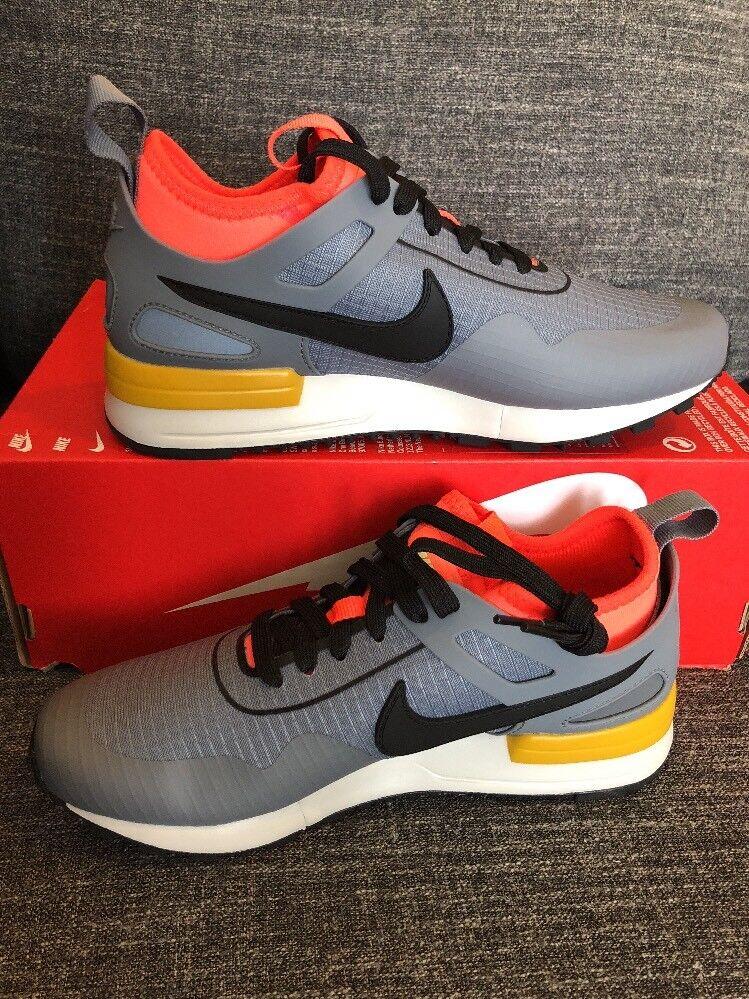 Nike Air Pegasus 89 Tech Tech Tech SI 881180-001 Grey orange Womens Running shoes Size 5.5 5661cc