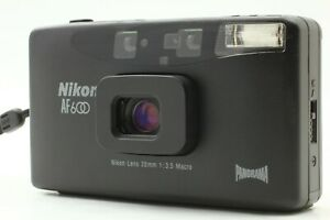 Exc-Nikon-AF600-Panorama-35mm-Point-amp-Shoot-Film-Camera-From-Japan