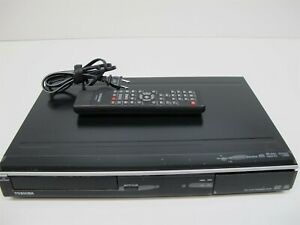TOSHIBA-DVD-Video-Recorder-Player-DR430KU-with-Remote