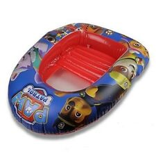PAW PATROL INFLATABLE BOAT CHILDRENS DINGHY KIDS BEACH FLOAT SWIMMING POOL TOY