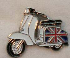 Union Jack Special Scooter Enamel Pin Badge