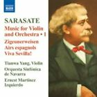 Sarasate: Music for Violin and Orchestra; Zigeunerweisen; Airs Espagnols; Viva Sevilla! (CD, Sep-2009, Naxos (Distributor))
