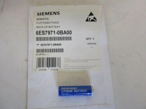 NEW SIEMENS SIMATIC 6ES7971-0BA00 BACK-UP BATTERY