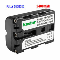 1x Kastar Battery For Sony Np-fm500h Slt-a65vy Slt-a77ii Slt-a77v Slt-a77vb