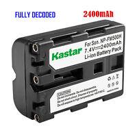1x Kastar Battery For Sony Np-fm500h Slt-a65v Slt-a65vb Slt-a65vk Slt-a65vm