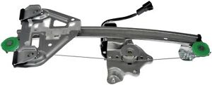 Power Window Motor and Regulator Assembly Rear Left fits 03-07 Cadillac CTS