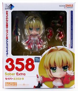 100/% authentic Nendoroid 358 Fate Extra Saber Extra pvc Figure Good Smile