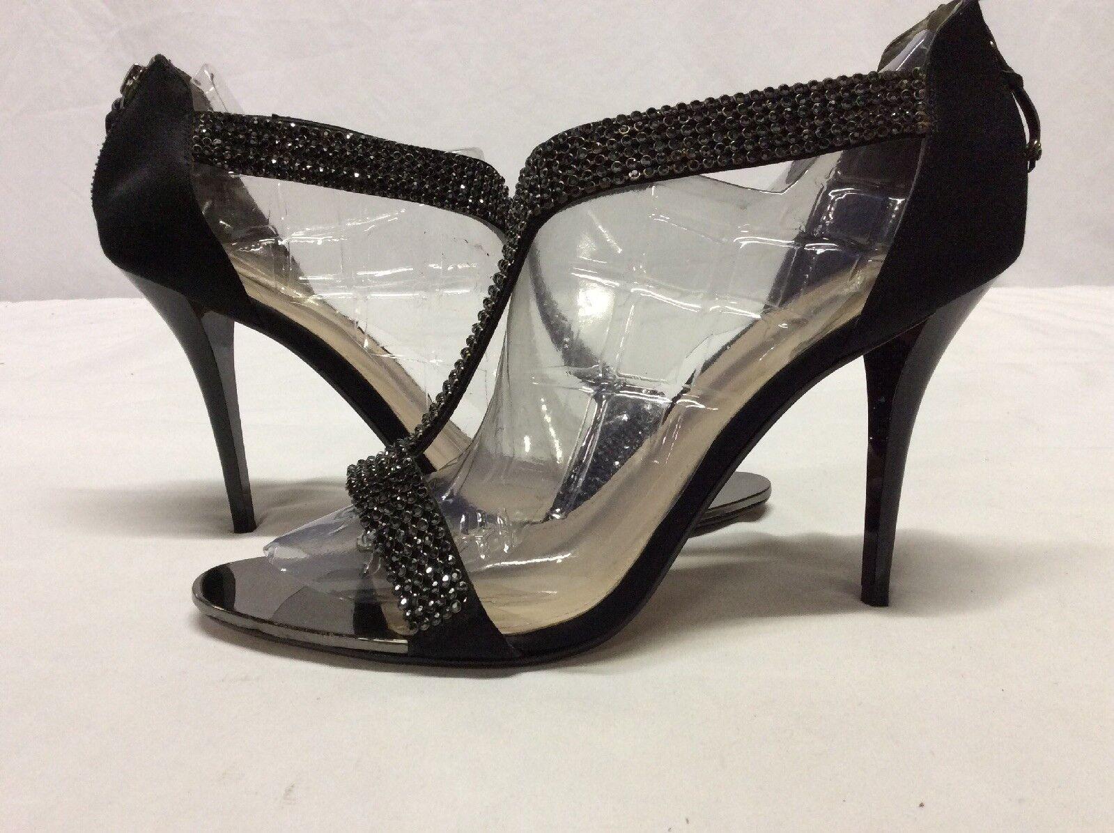 Glint Women's Heels Dress Sandals, Black,Bridal Size Size Size US 10.5 M. ...DRESS7 a6b2f4