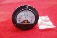 1pc Ac 0 5v Round Analog Voltmeter Voltage Panel Meter Dia 664mm Dh52