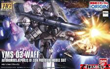 YMS-03 Waff High Grade HG The Origin Scale 1/144 Model Bandai