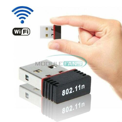 Mini Wireless USB 150//300Mbps Wifi Adapter LAN-Antenne Netzwerk-Adapter