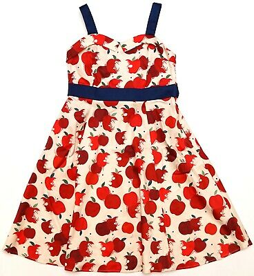 New Disney Parks The Dress Shop White Red Mary Poppins Penguins Youth Dress S-XL