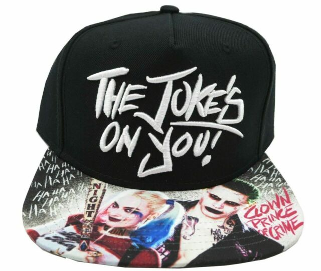 THE JOKER Harley Quinn SUICIDE SQUAD Batman movie COMIC Book New Men/'s HAT Cap