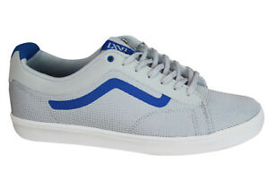 0c39a59429 Vans Off The Wall Ortho Mens Trainers Lace Up Shoes Grey Blue ...