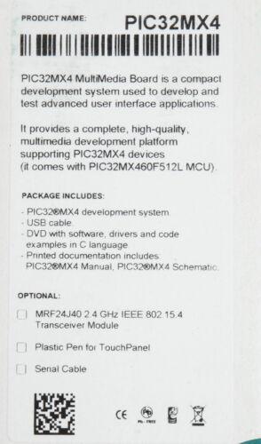 Business & Industrie Multimedia Board for PIC32MX4 Entwicklerboard ...