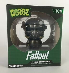 Funko Dorbz #104 FALLOUT POWER ARMOR Vinyl Figure from Loot Crate