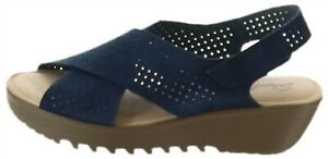 Skechers Perforated Suede Slingback
