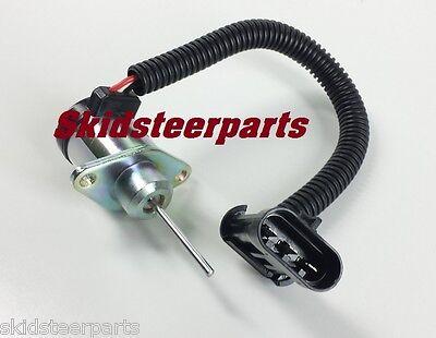 6691498 Fuel Shut Off Solenoid for Bobcat S130 S150 S160 S175 S185 S205 S450
