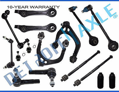 2005-2010 Dodge Charger Front Upper Lower Control Arm Ball Joint Sway Bar RWD