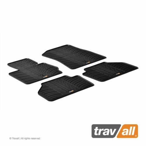 Travall Gummifußmatten Automatten passgenau für BMW X3 2010-2017