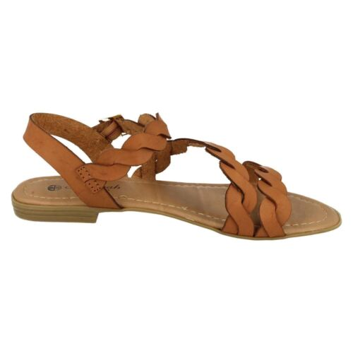 SALE Ladies Savannah Collection Synthetic Sandals F00061