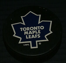 Toronto Maple Leafs NHL Hockey Puck Officially Licensed VERUM1990s RARE HTF OOP