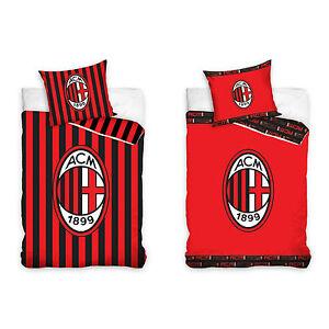 Ac Milan Fc Fussball Bettwasche Ac Mailand Football Club Milano Bed