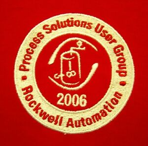 Details about ROCKWELL AUTOMATION Milwaukee 2XL polo shirt 2006  Allen-Bradley XXL embroidery