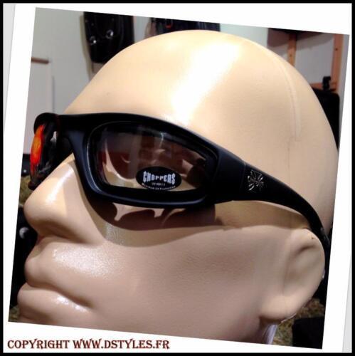 1204 Clair biker custom harley Goggles sunglasse  motorcycle maltese cross