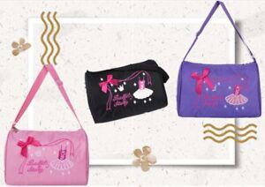 Children-Girls-Kids-Dance-Bag-Cute-Lace-Handbag-Ballet-Gymnastics-Bow-Tote-Bags