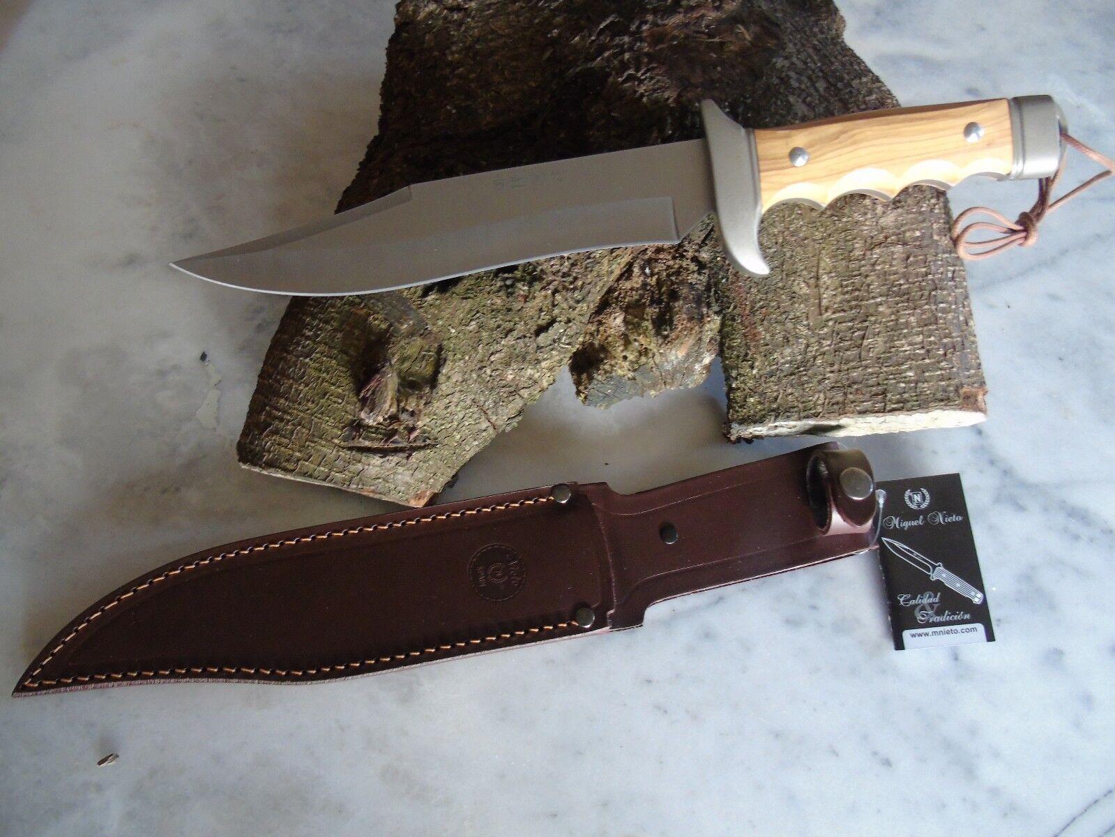 Nieto Bowie Messer Cetreria Jagdmesser mit Olivenholz 129423  | Zu einem niedrigeren Preis