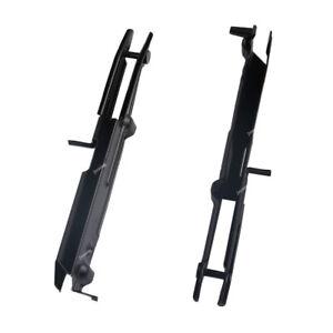 Pair-Driver-Passenger-Front-Bumper-Support-Bracket-For-MERCEDES-2007-2013-S550