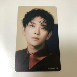 SEVENTEEN JOSHUA JAPAN 3RD SINGLE HITORIJANAI Not alone HMV Official Photo Card