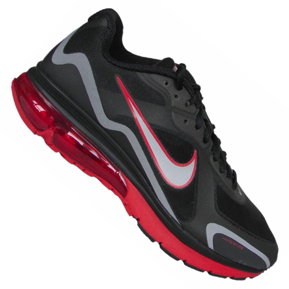 Mens Nike Air Max Alpha 2011 + Sneakers New, Black   Infared Red 454347-002 sku
