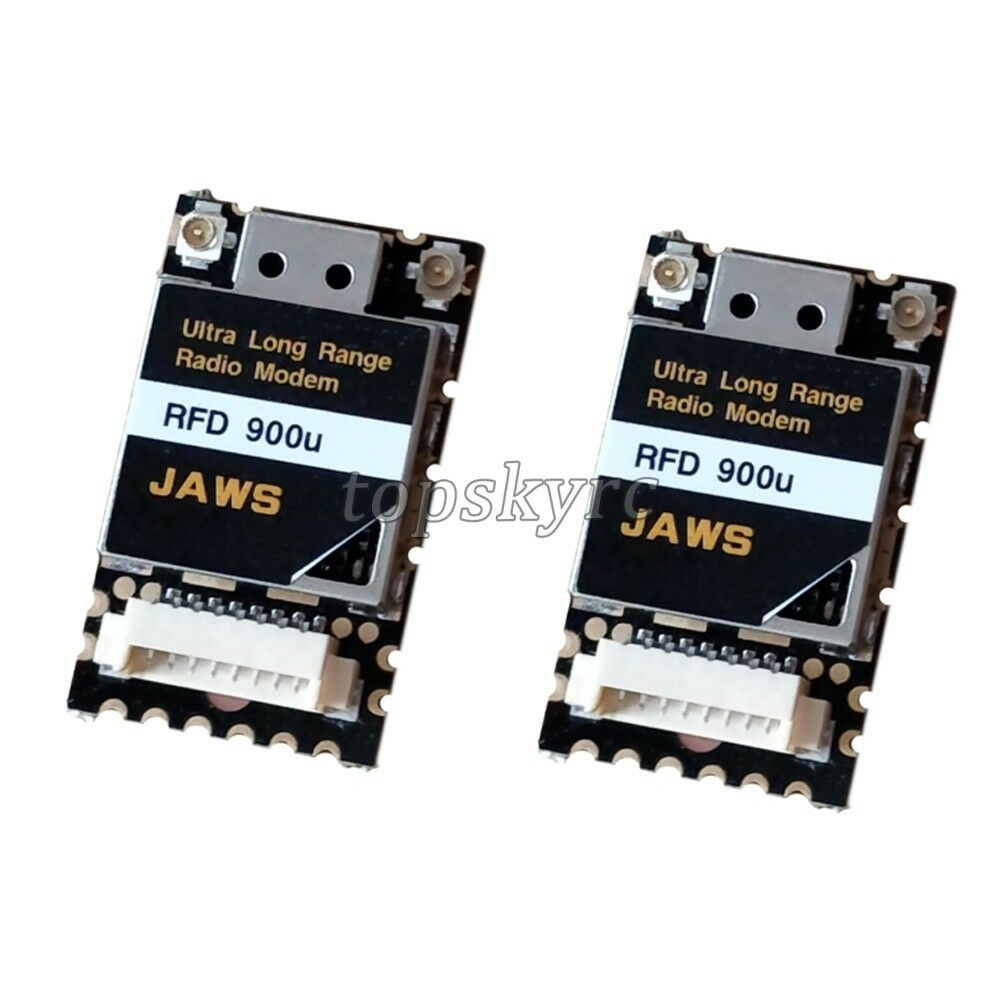 10KM Wireless Radio Data Modem Ultra Long Range Radio Modem for FPV RDF900u tpys
