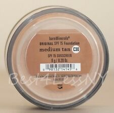 bare-escentuals bareminerals Medium Tan C30 Xl 8g foundation ORIGINAL SPF 15 New