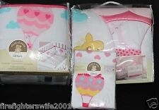 Carter's Child of Mine Love is in the Air hot air balloons 5 pc crib bedding set