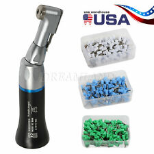Nsk Style Dental Slow Low Speed Contra Angle Handpiece 100prophy Polish Cups