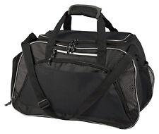 Gemline Large U Shaped Opening Polyester Bottle Pocket Squad Sport Bag. 4560