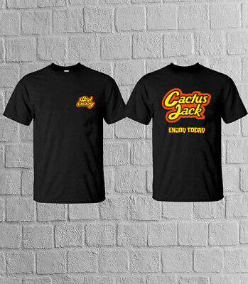 Hot Reese S Puffs Cactus Jack Enjoy Today T Shirt Travis Scott Gildan Tee Ebay