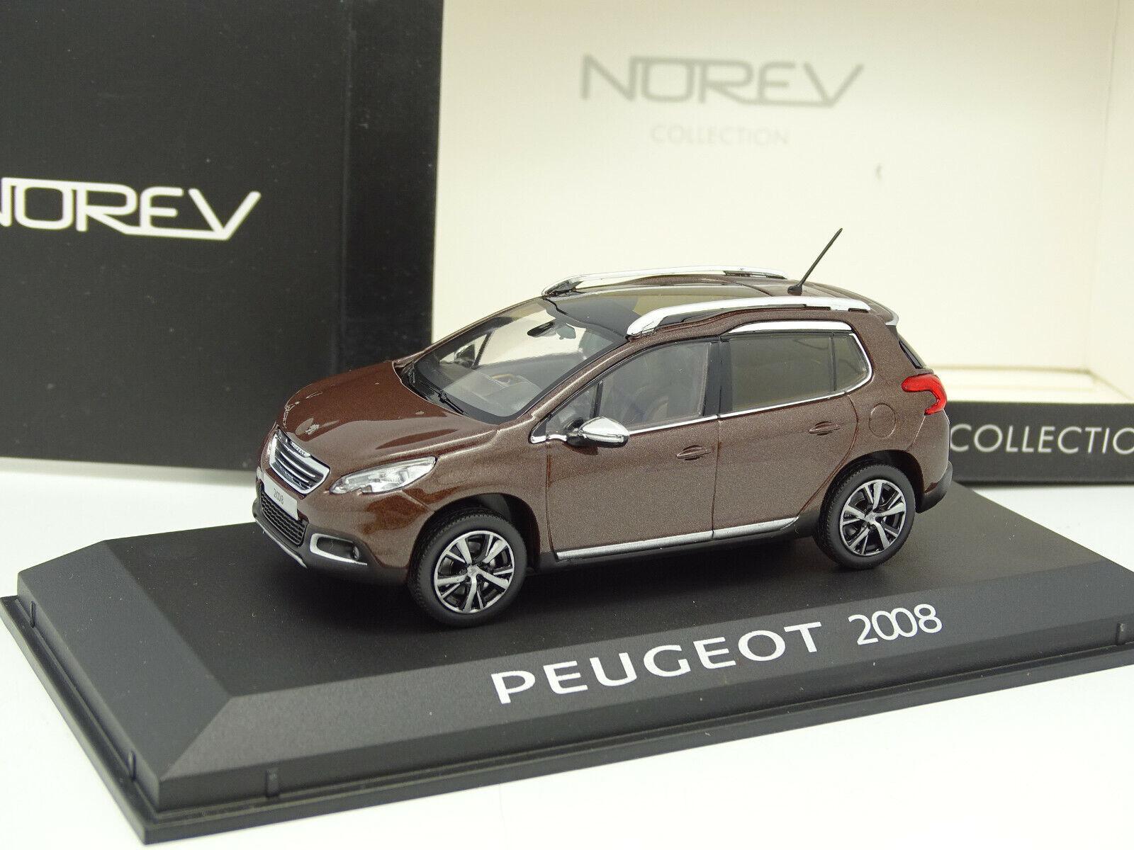 en venta en línea Norev 1 43 - Peugeot Peugeot Peugeot 2008 marrón  ventas directas de fábrica