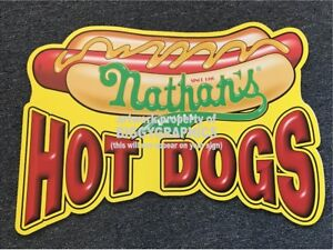 AUCTION-IS-FOR-TWO-SAME-SIZE-NATHANS-HOT-DOGS-CORRUGATED-PLASTIC-SIGNS