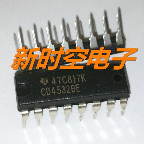 5 X CD4532BE 4532BE Cmos 8-Bit Priorlty Encoder DIP16