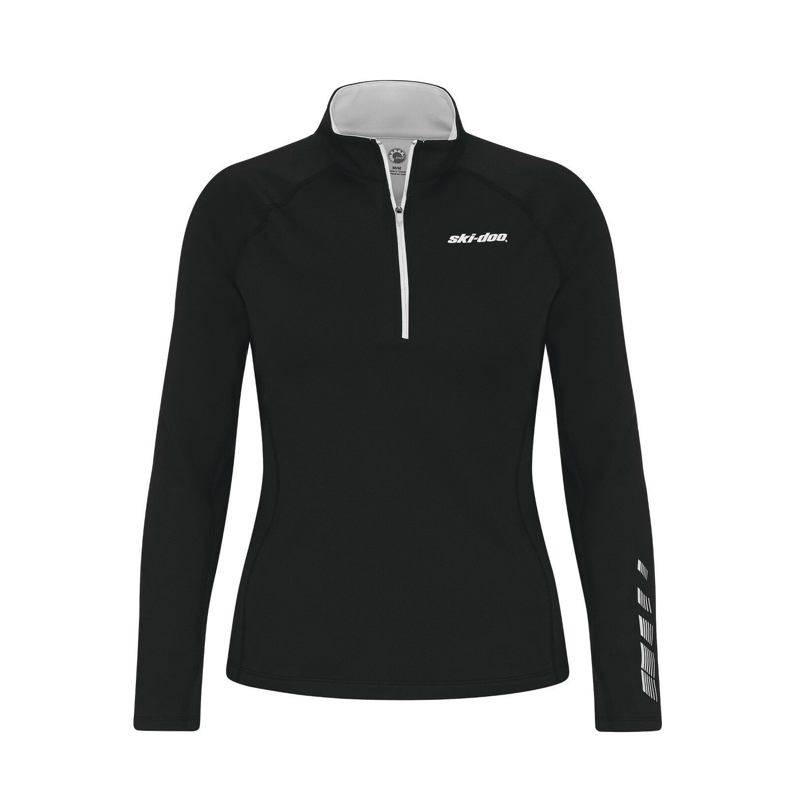 2019 SKI-DOO THERMAL BASE LAYER TOP 4540300409 LADIES'  SMALL S GREY  team promotions