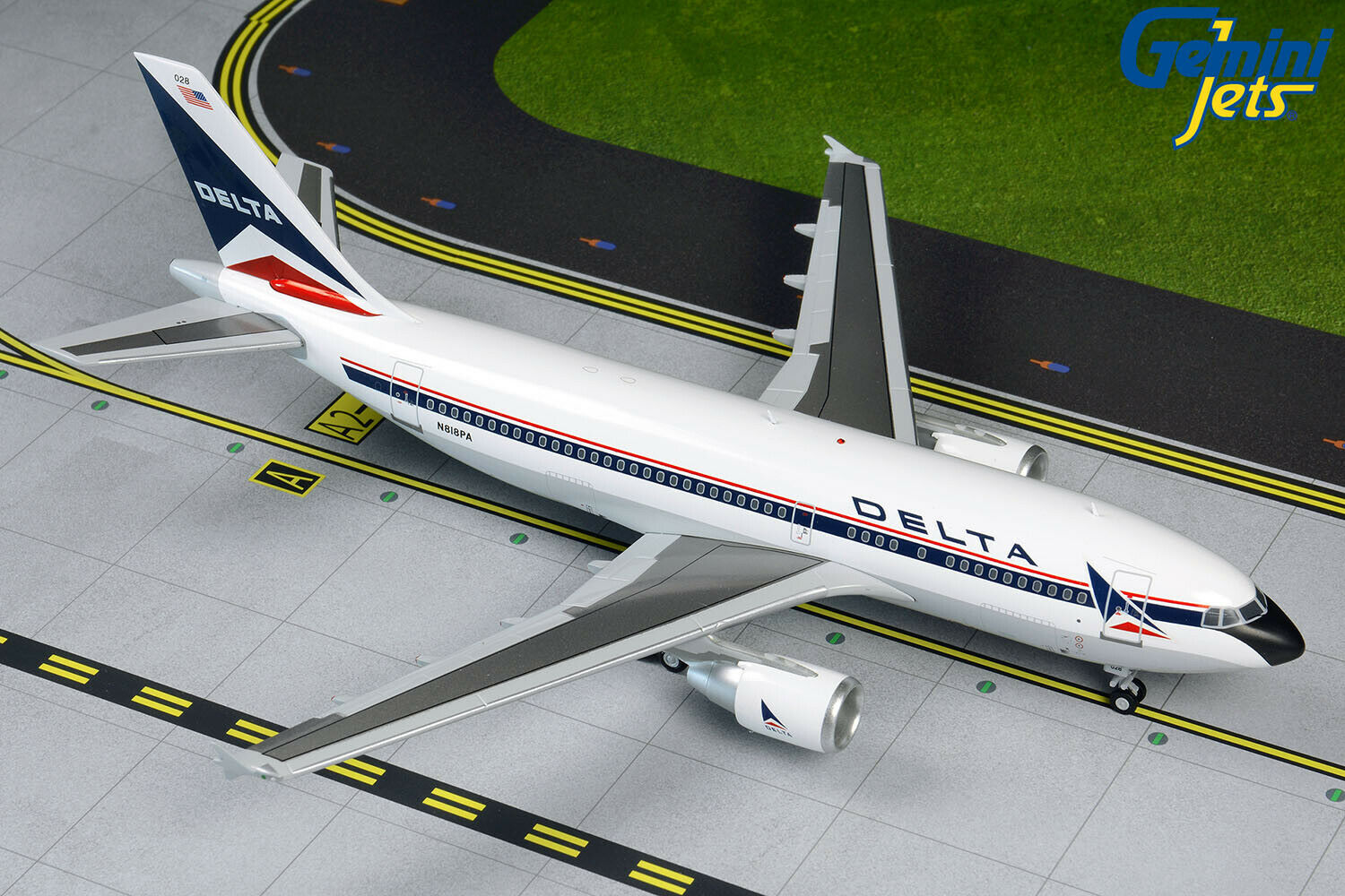 Delta Airbus A310-300 N818PA Gemini Jets G2DAL860 Scale 1 200 PRE-ORDER
