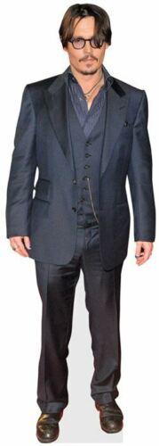 Johnny Depp Black Jacket Pappaufsteller mini